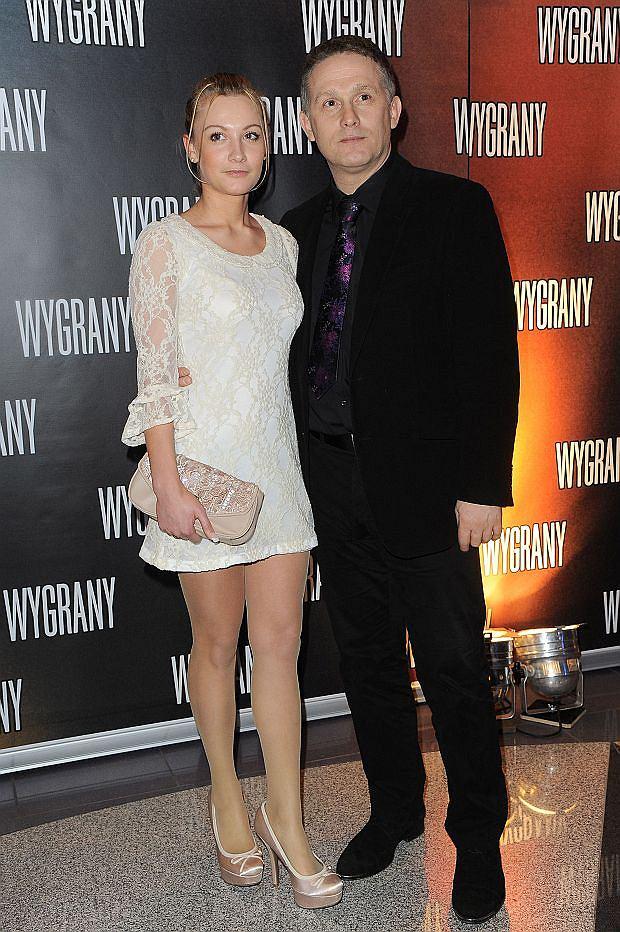 Robert Moskwa z córką Pauliną