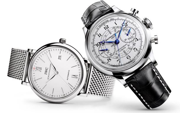 zegarki, IWC, Portofino, Baume & Mercier, Capeland Flyback Chronograph