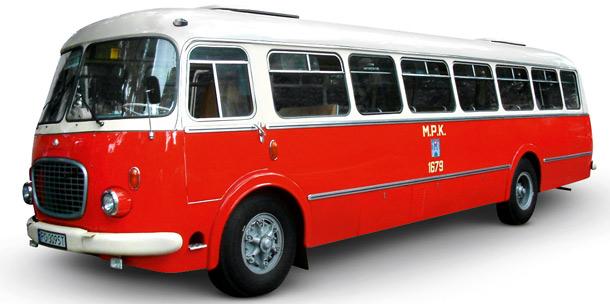 PRL,samochód, Jelcz 043, ogórek