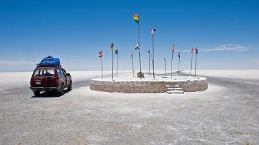 Boliwia. W okolicy niezwykłego hotelu z soli