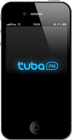 Aplikacja muzyczna Tuba.fm