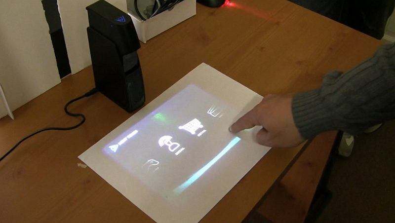 Interfejs firmy UI Centric dla urządzenia Light Touch