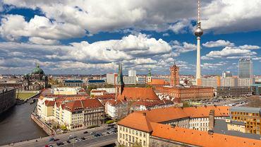 Panorama Berlina z wieżą telewizyjną