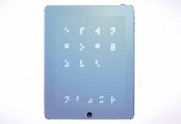iSense - nakładka na iPada dla niewidomych