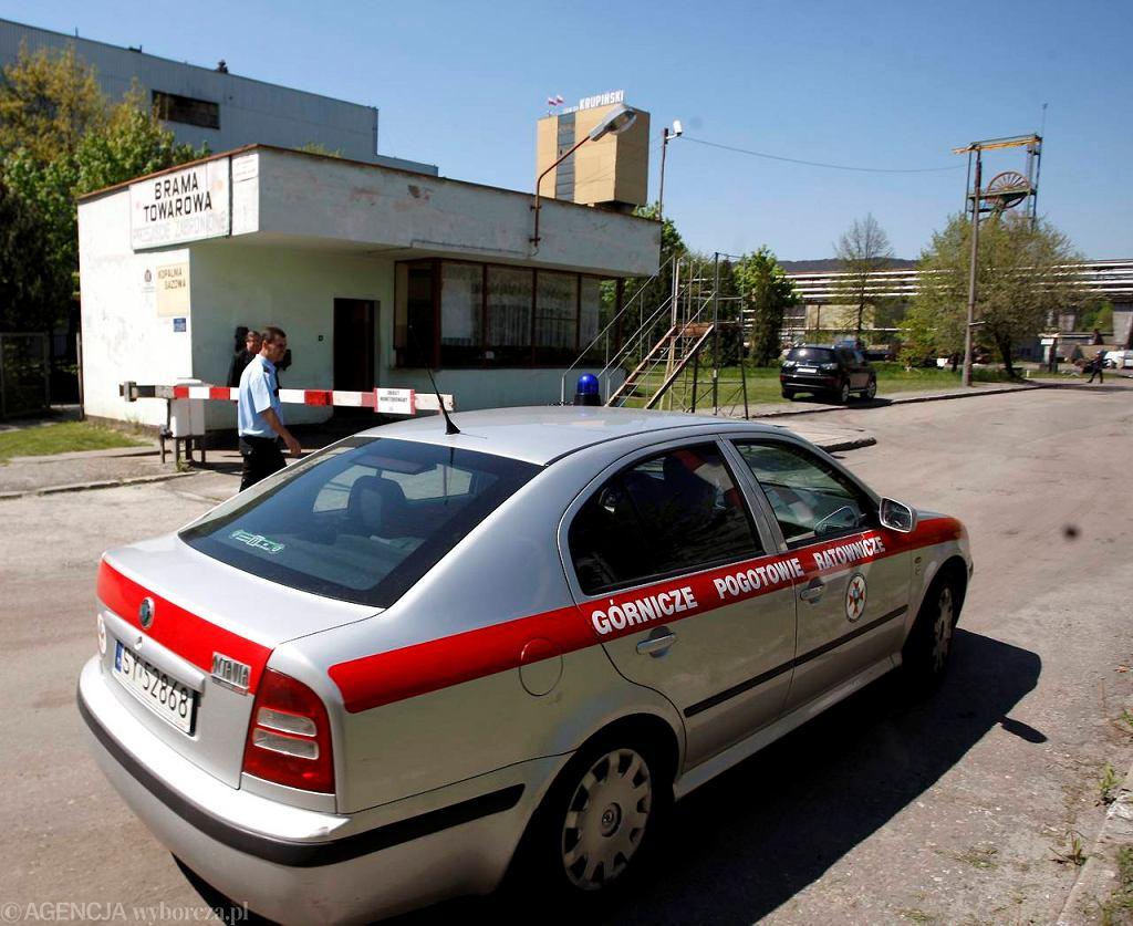 Akcja ratunkowa w kopalni Krupiński w Suszcu