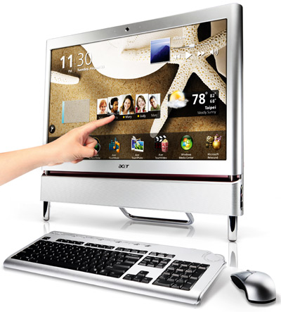 all-in-one, komputer, Acer