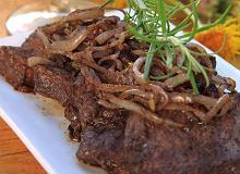 Wołowina marynowana w winie - ugotuj