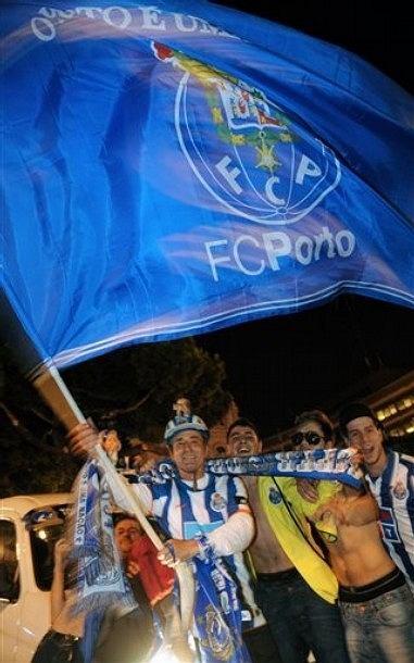 FC POrto świętuje zwycięstwo w Lidze Europejskiej