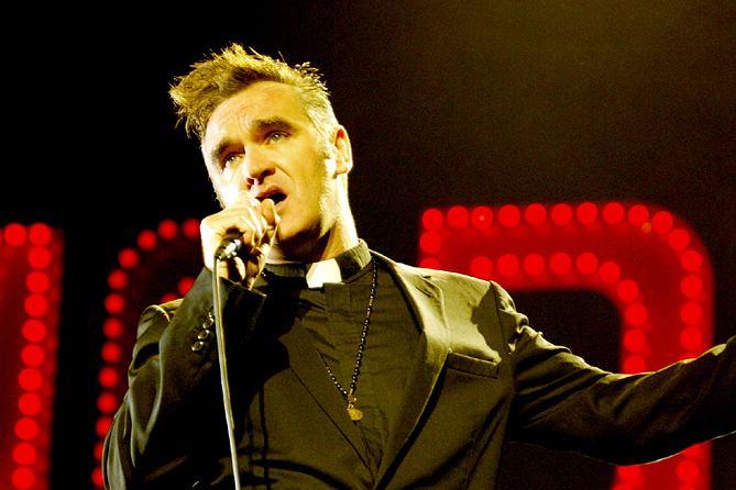 Morrissey, lider The Smiths / fot.mat.prasowe
