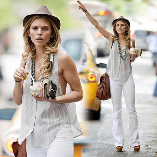 AnnaLynne McCord w Nowym Jorku