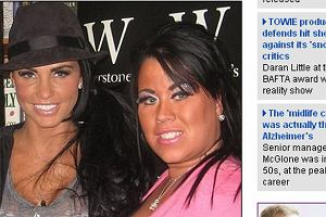 Katie Price, Lisa Hind.