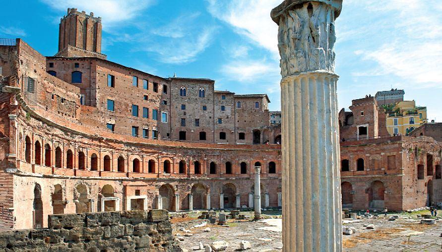 Centrum targowe Trajana (dzisiejsza umowna nazwa włoska Mercati di Traiano)