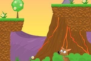 Skaczący kangurek