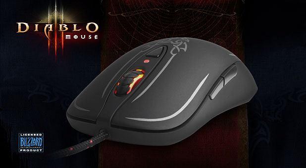 Mysz dla fanów Diablo III