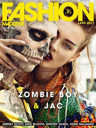 Fashion nr 36 - Monika Jagaciak i Zombie Boy
