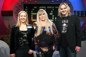 Maryla Rodowicz z synem i córką