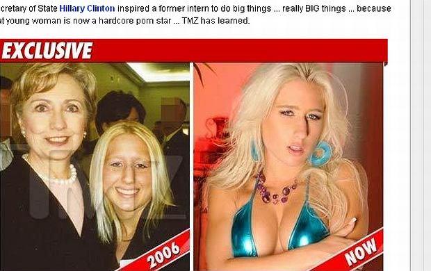 Hilary Clinton i Sammie Spades.