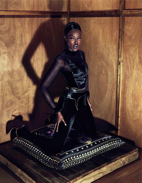 Naomi Campbell kampania Givenchy jesień/zima 2011/12