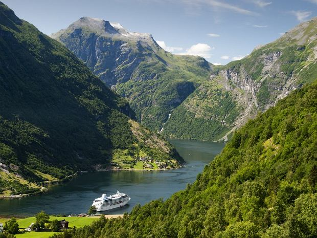 Największe atrakcje Norwegii: fiordy