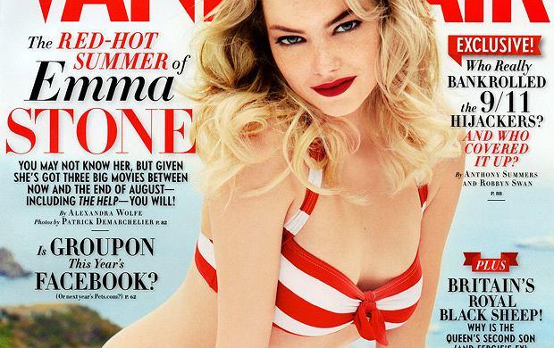 Emma Stone w bikini dla