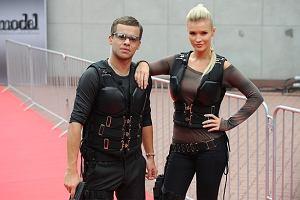 Michał Piróg, Joanna Krupa  na planie Top Model 2.
