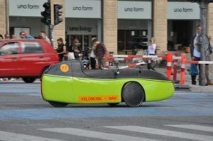 Trójkołowy velomobil