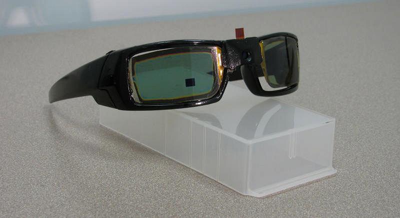 Zaawansowane technicznie okulary przeciwsłoneczne