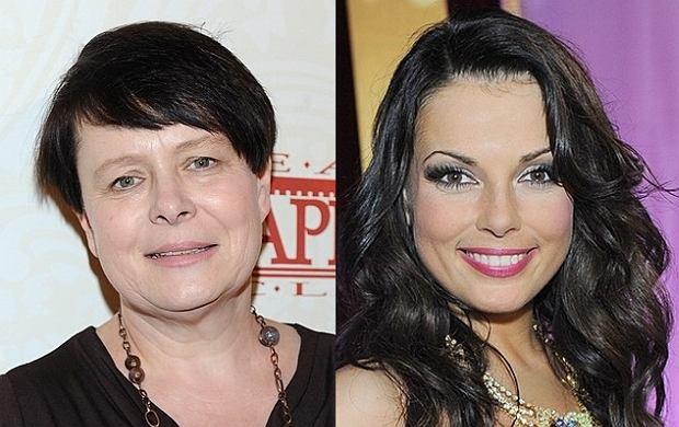 Ilona Łepkowska i Katarzyna Glinka.