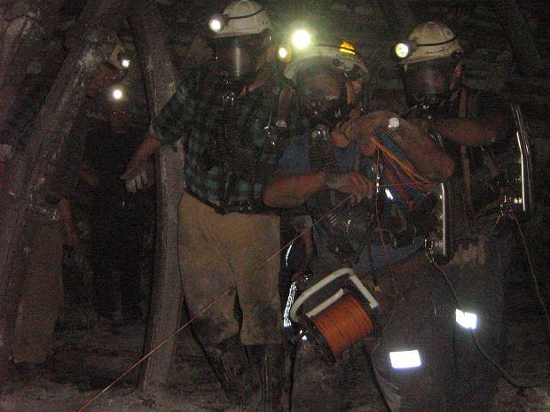 Ratownictwo górnicze to działanie zespołowe (fot. Archiwum prywatne)