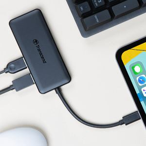 Testujemy hub USB Transcend  HUB5C