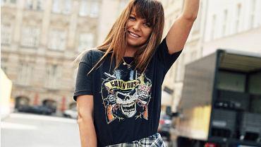 Anna Lewandowska t-shirt Mango