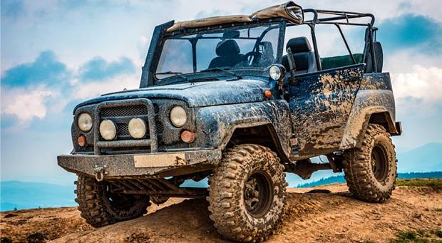 Jazda off-road