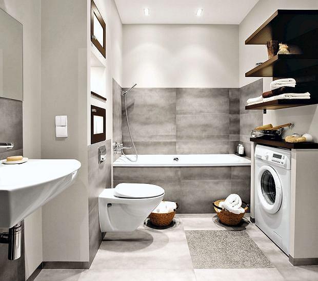 Dobrze zaprojektowana łazienka ułatwia życie domownikom.