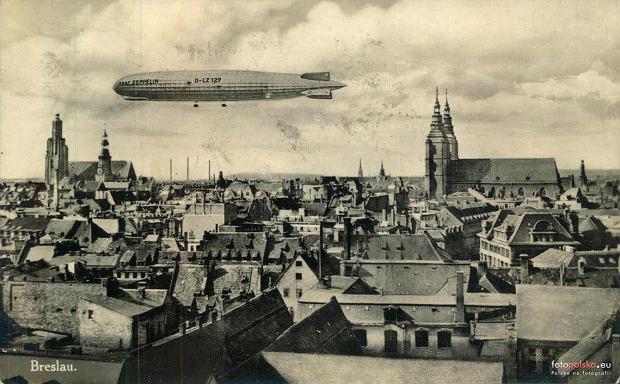 Zdjęcie numer 9 w galerii - Sterowce nad przedwojennym Wrocławiem. Te archiwalne zdjęcia robią wrażenie [GALERIA]