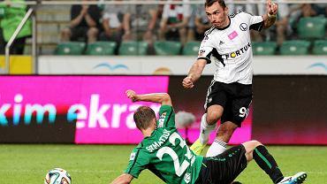 Legia wygrała z Górnikiem Łęczna 5:0