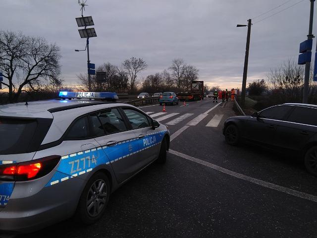 Śmiertelny wypadek na przejściu dla pieszych w Tarczynie