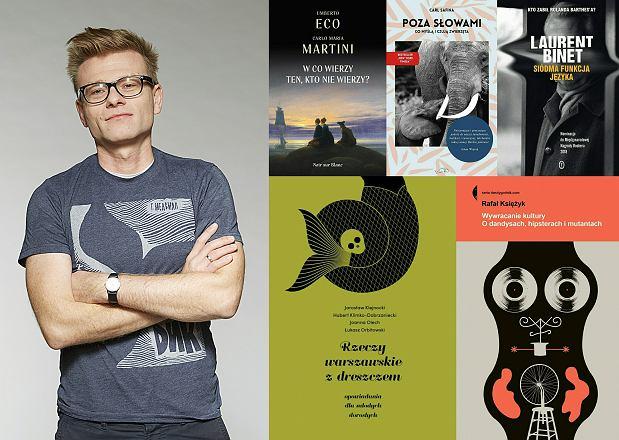 Łukasz Grzymisławski poleca książki pod choinkę - dla zainteresowanych Eco i eko