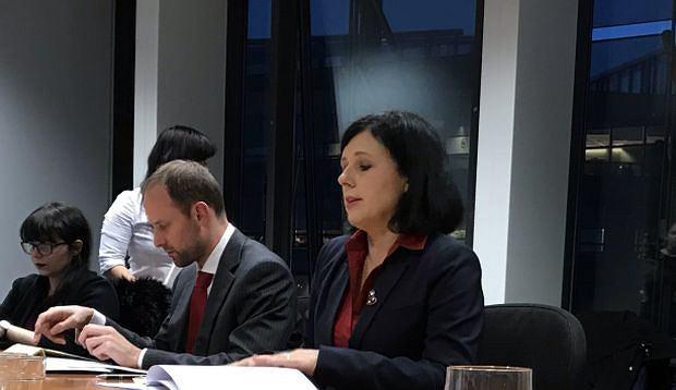 Unijna komisarz sprawiedliwości Wiera Jourova