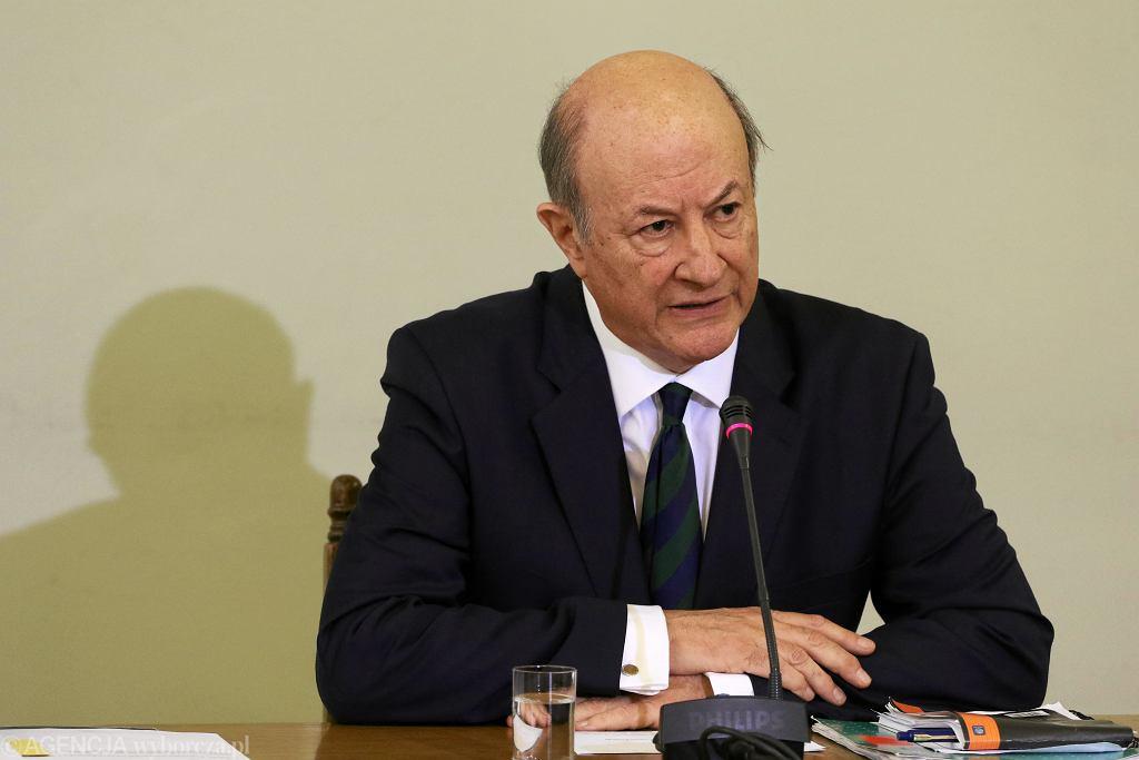 Były minister finansów w rządzie PO-PSL Jacek Rostowski