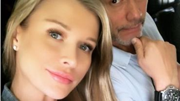 Joanna Krupa z mężem