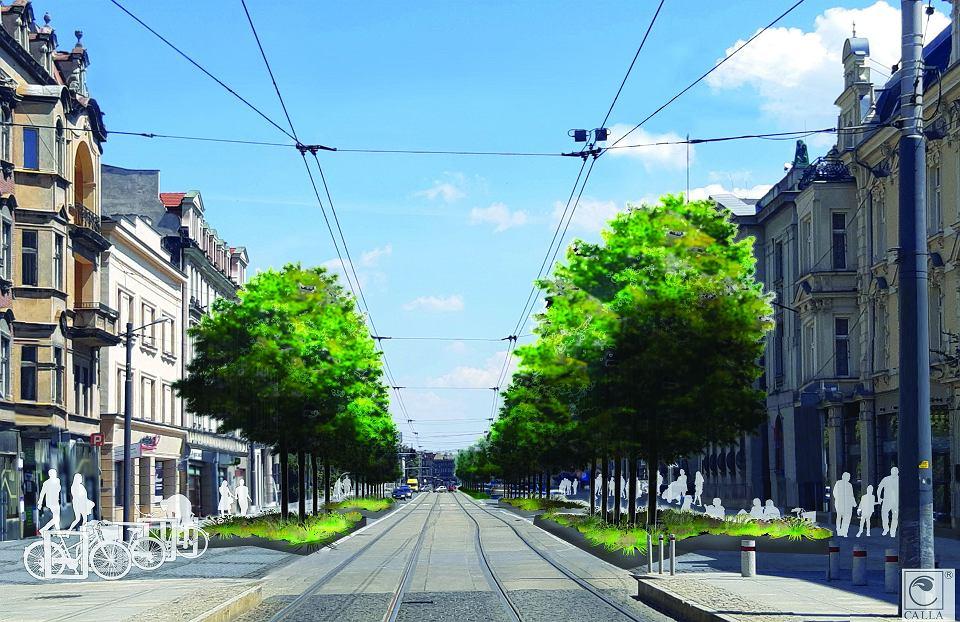 Tak ma wyglądać ul. Warszawska w Katowicach