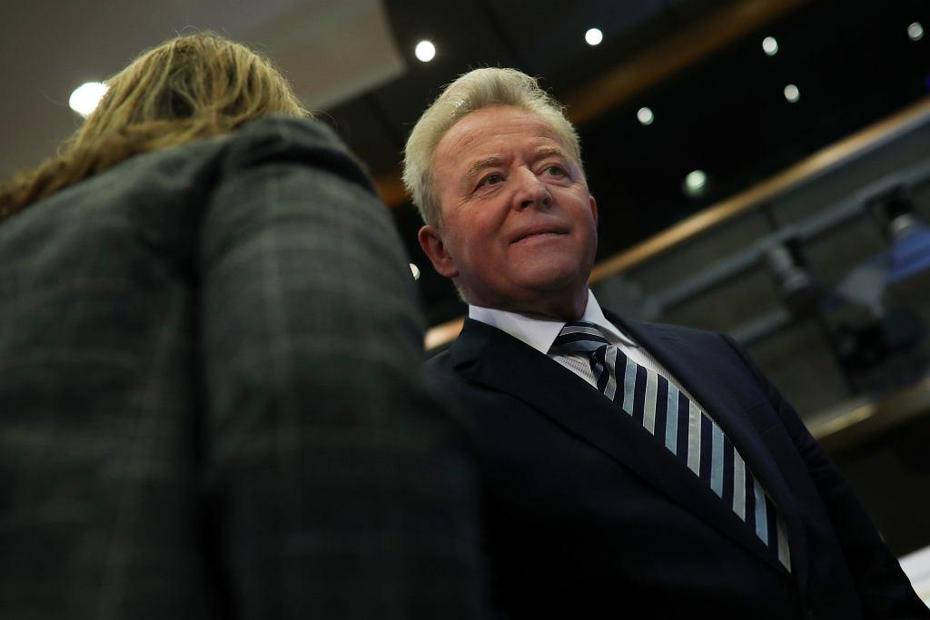 Janusz Wojciechowski podczas ponownego, publicznego wysłuchania przez Parlament Europejski. Bruksela, 8 października 2019