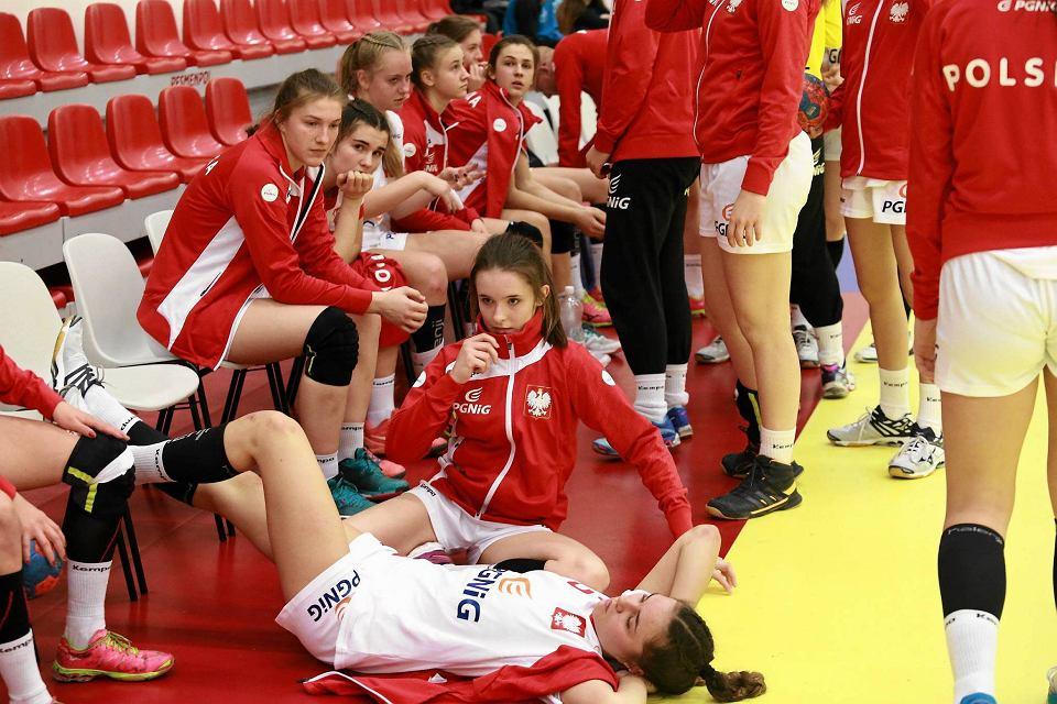 Zdjęcie numer 3 w galerii - Polskie juniorki młodsze zaczęły turniej w Płocku od porażki [FOTO]