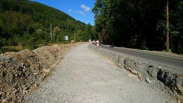 Przebudowa głównej drogi do Wisły