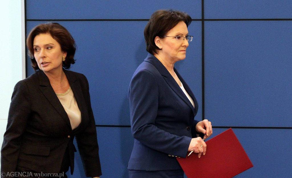 Małgorzata Kidawa-Błońska i Ewa Kopacz