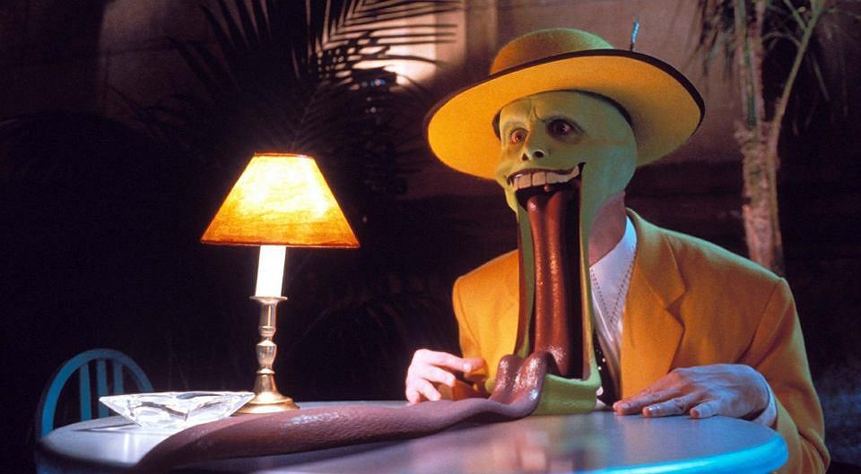 Jim Carrey 'Maska'
