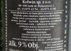 Napoje na bazie piwa imitujące rosyjskie wina. Będzie kontrola