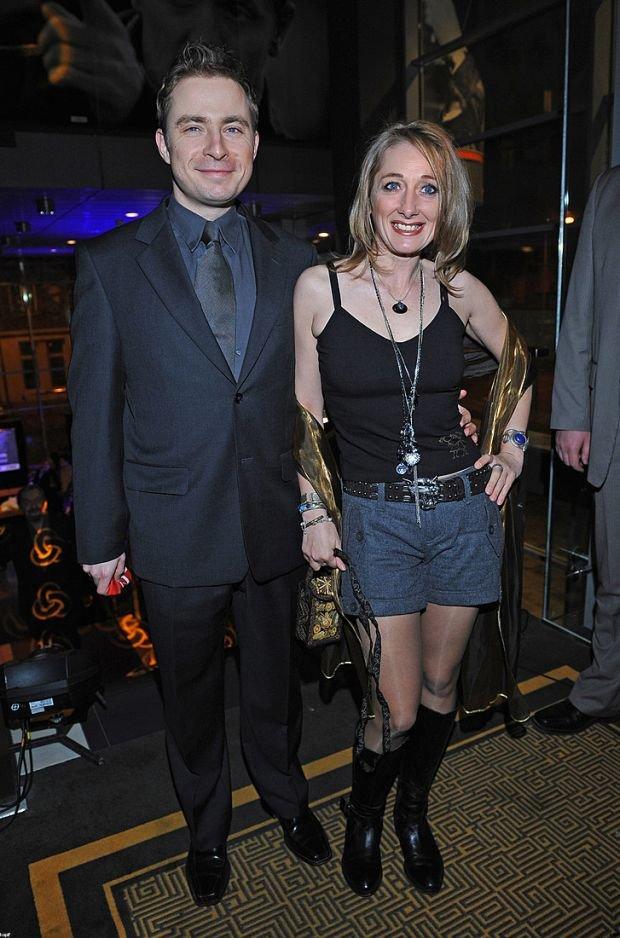 Beata Pawlikowska z byłym partnerem
