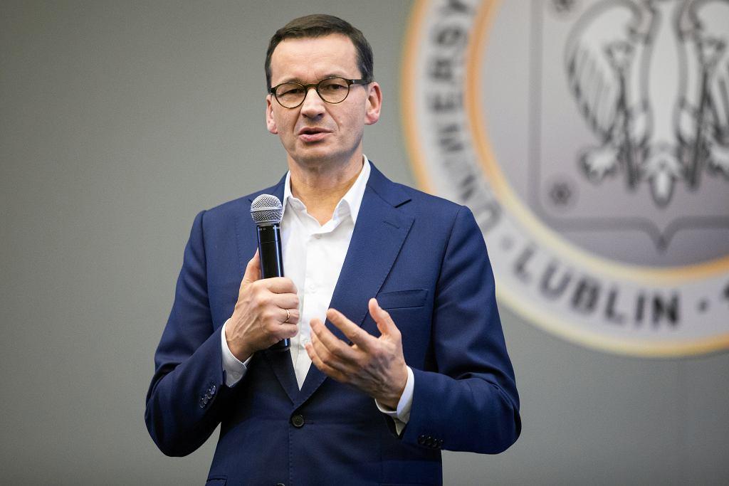 Premier Mateusz Morawiecki (zdjęcie ilustracyjne)