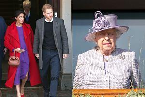 Meghan Markle i książę Harry nie spędzą świąt z królową Elżbietą II